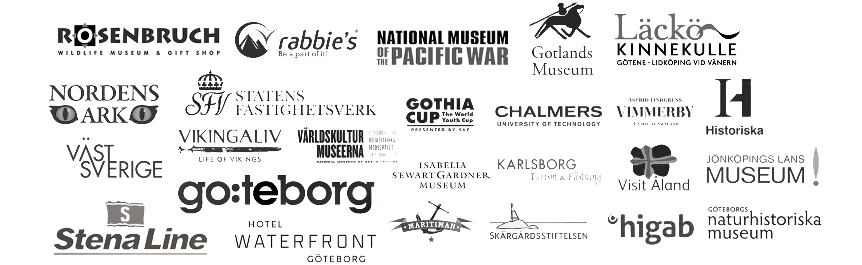 logos of customers