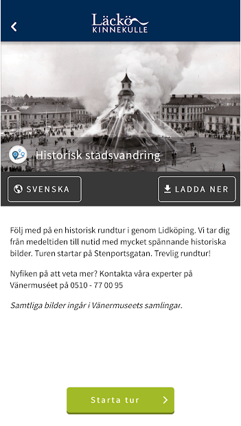 läckö app screenshot