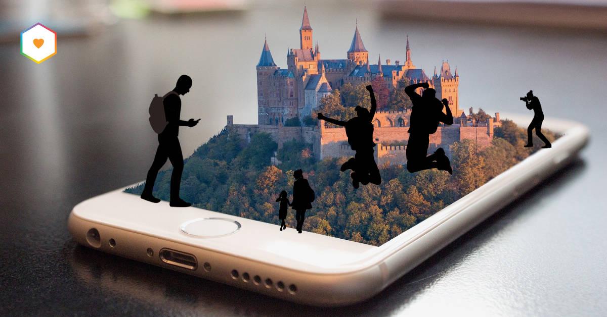 besöksmål i mobilen